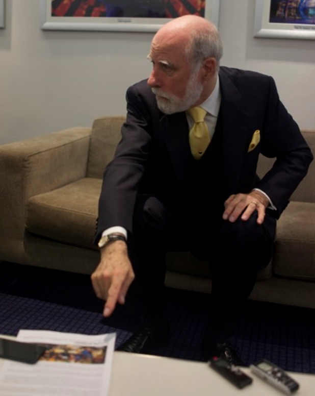 vint cerf point to fistar