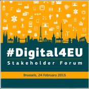 Digital4EU Stakeholder Forum on Europe's new digital priorities   Digital Agenda for Europe   European Commission